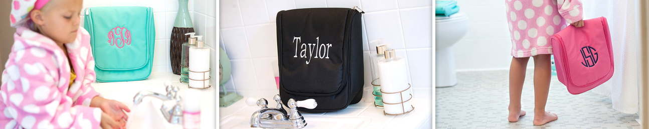 Hanging Travel Cases - Cosmetic Bags