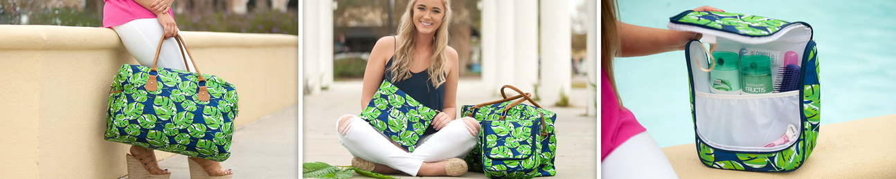 Travel Bags | Monogrammed and Personalized by Viv&Lou - Lola - Charlie Dot