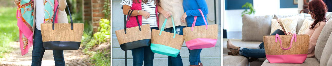 Cork Large Purse - Lunch Bags