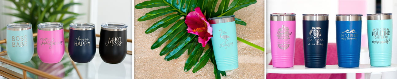 20 oz. Tumbler - Tickled Pink Collection