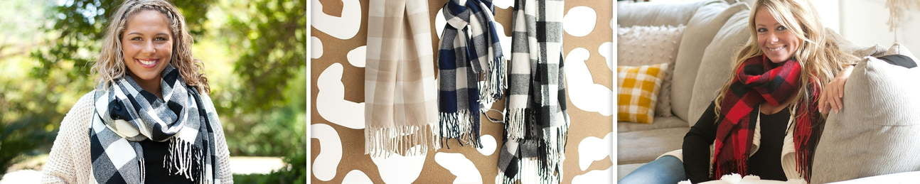 Accent Scarf - Scarves