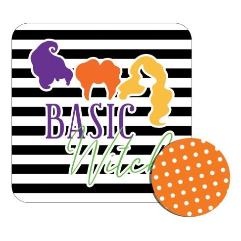 Basic Witch Desk Set, Mouse pad, Halloween, Gifts, VIv and Lou, Myrtle Beach, South Carolina, USA