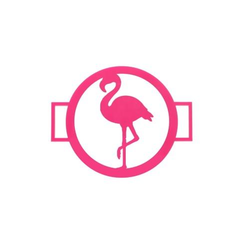 Flamingo Accent Disc