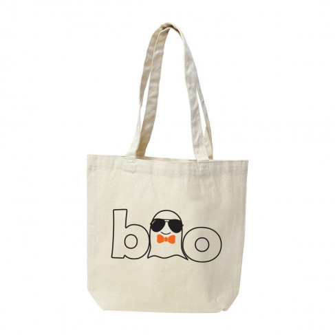 Boo Boy Ghost Canvas Tote