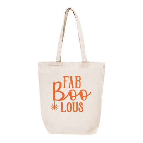 Fab-Boo-Lous Canvas Tote