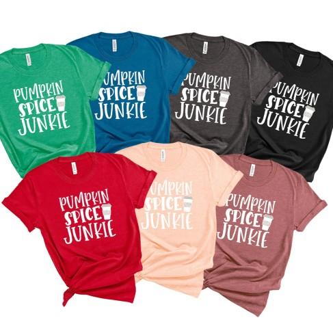 Pumpkin Spice Junkie T-Shirt