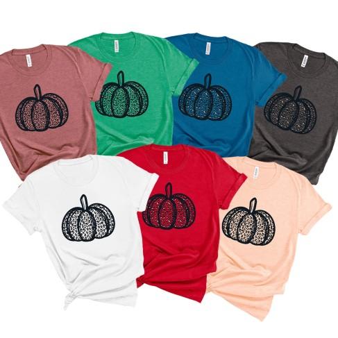 Leopard Pumpkin T-Shirt
