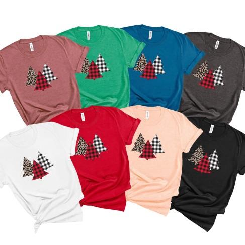 Trio Christmas Tree T-Shirt