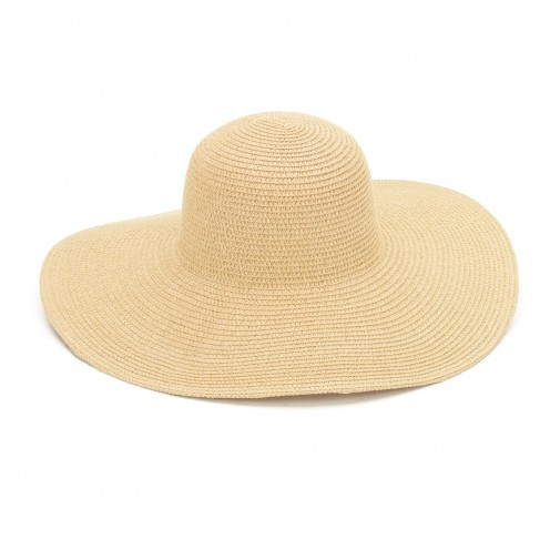 Natural Adult Floppy Hat