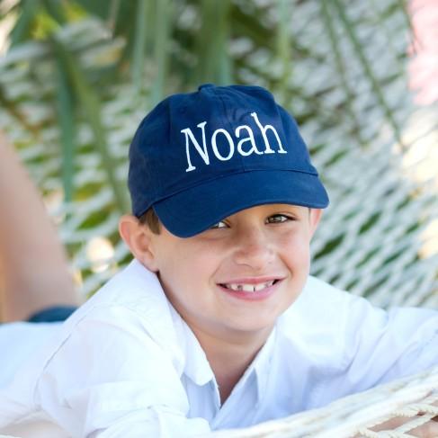 Navy Kids' Cap