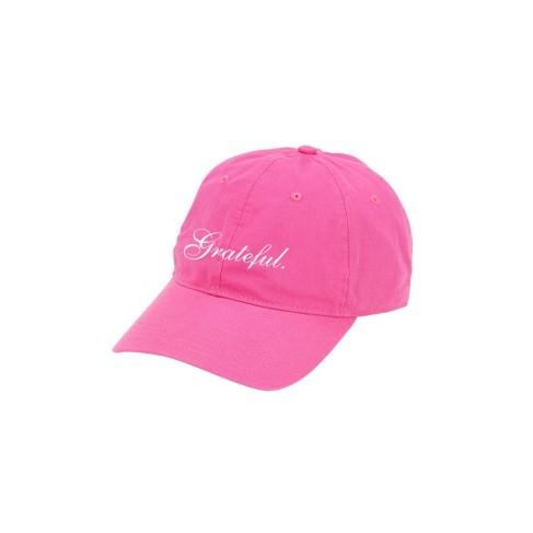 Hot Pink Grateful Cap