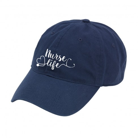 Nurse Life  Navy Cap