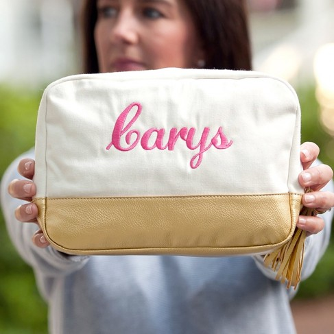 Creme Cabana Cosmetic Bag