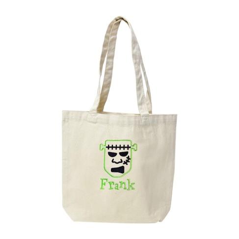 Frankenstein Name Canvas Tote