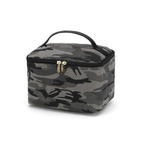 Black Camo Cosmetic Bag