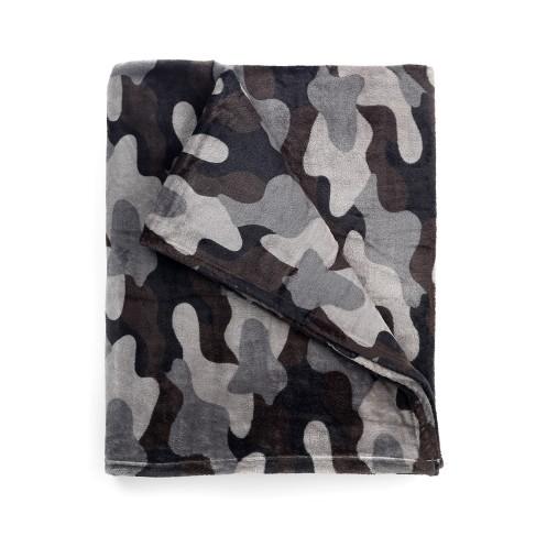 Black Camo Blanket