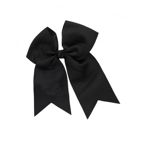 Black Hair Bow