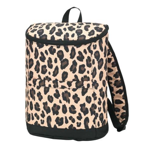 Wild Side Leopard Cooler Backpack