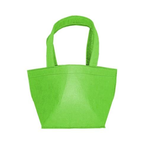 Green Felt Bucket