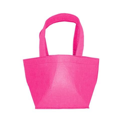 Hot Pink Felt Bucket
