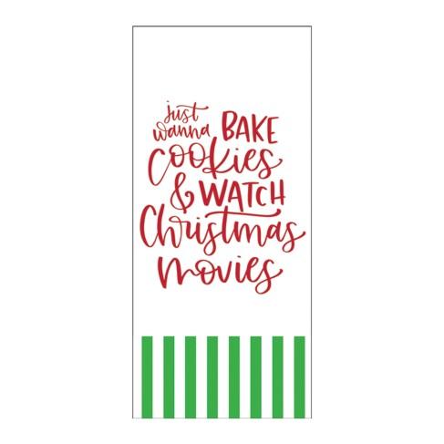 Christmas Cookies Hand Towel