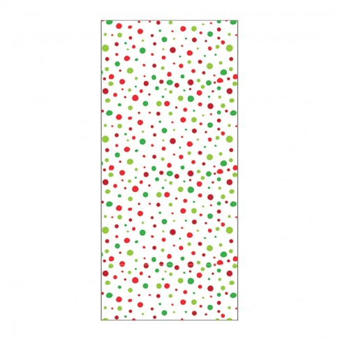 Red & Green Dot Hand Towel