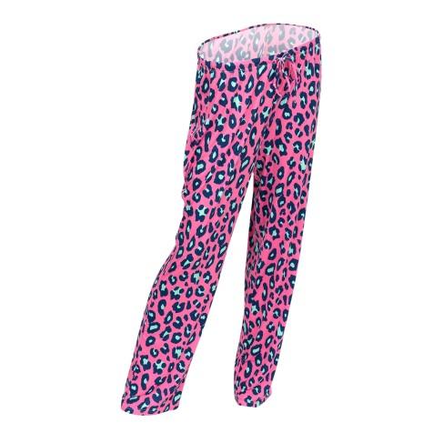 Hot Pink Leopard PJ Pants