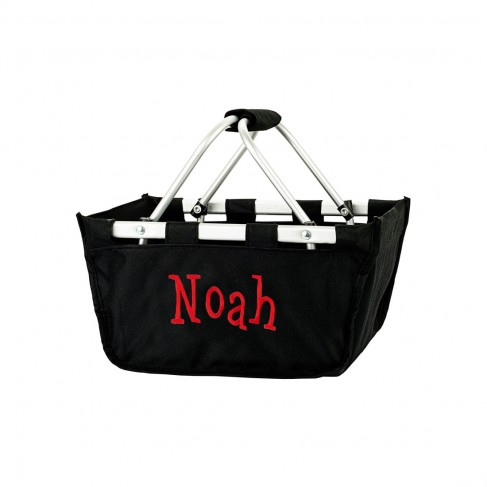 Small Black Market Tote