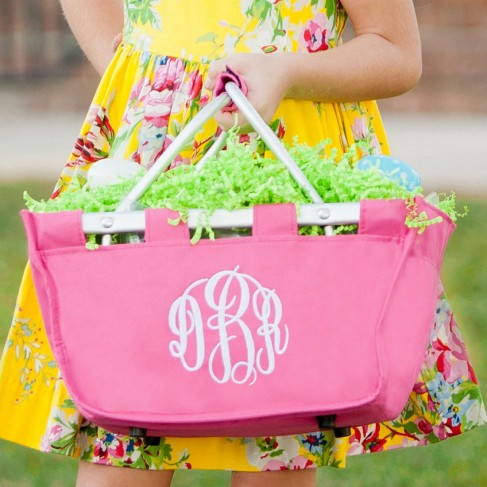 Small Hot Pink Market Tote
