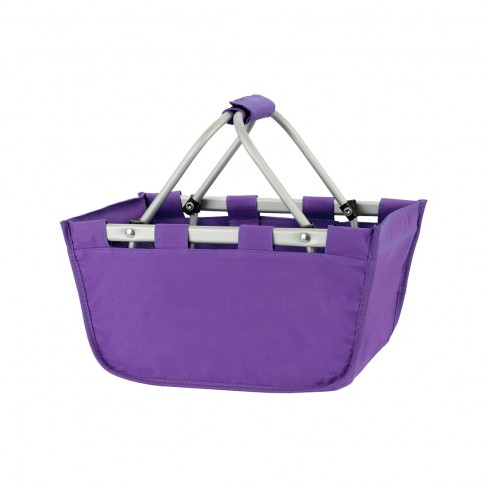 Mini Purple Market Tote