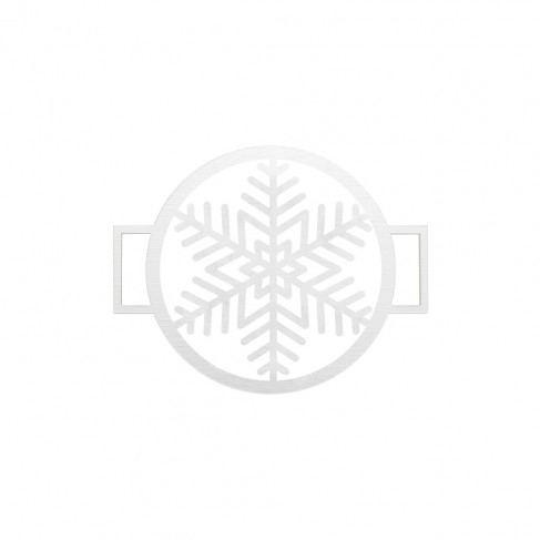 Snowflake Accent Disc