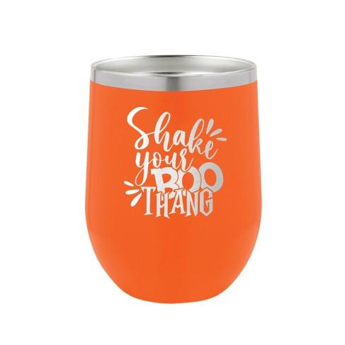 Shake Your Boo Thang Orange 12oz. Insulated Tumbler