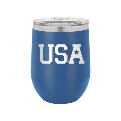 USA Royal Blue12oz Insulated Tumbler