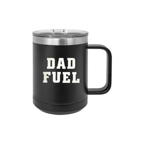 Dad Fuel Black 15oz Insulated Mug