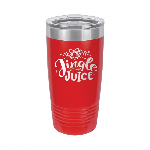 Jingle Juice Red 20oz Insulated Tumbler