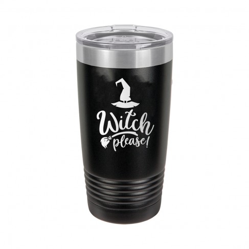 Witch Please Black 20oz Insulated Tumbler