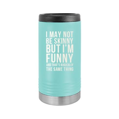 I'm Funny Slim Can Beverage Holder