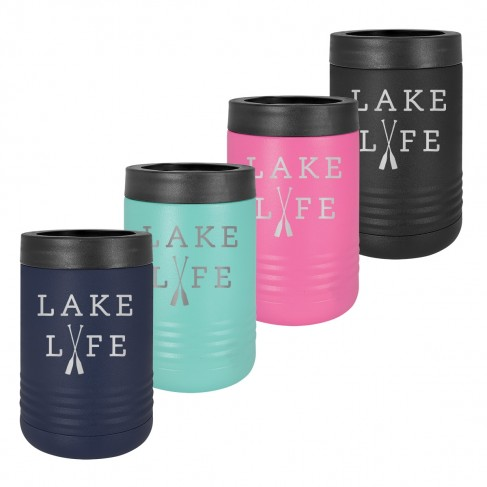 Lake Life Insulated Can Cooler