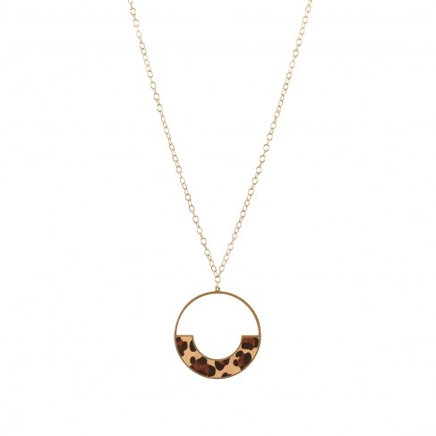 Leopard Bethany Necklace