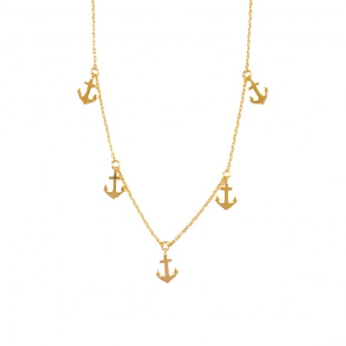 Anchor Dainty Necklace