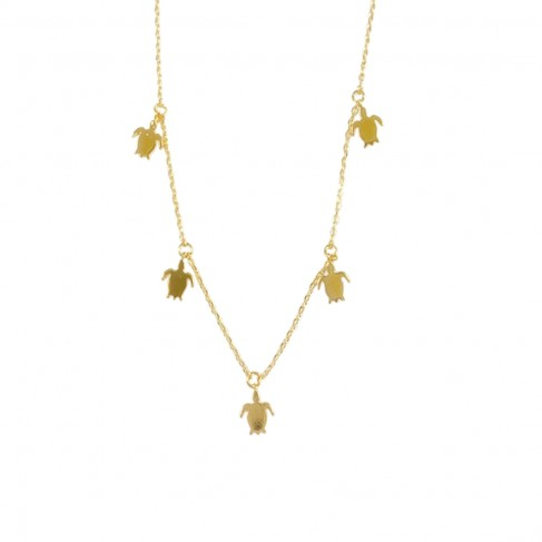 Turtle Dainty Necklace