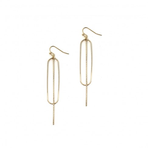 Gold Zoey Earrings