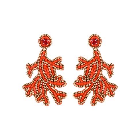 Totally Coral Earrings