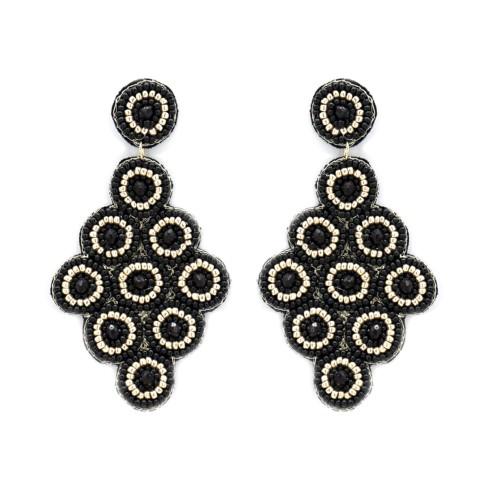 Black Luna Earrings