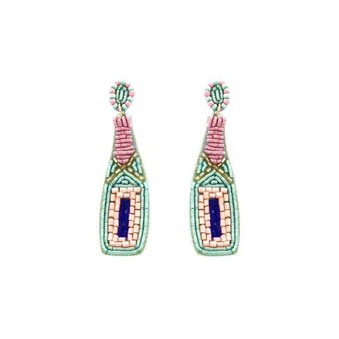 Poppin' Champagne Earrings