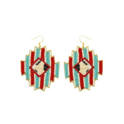 Red Mia Earrings