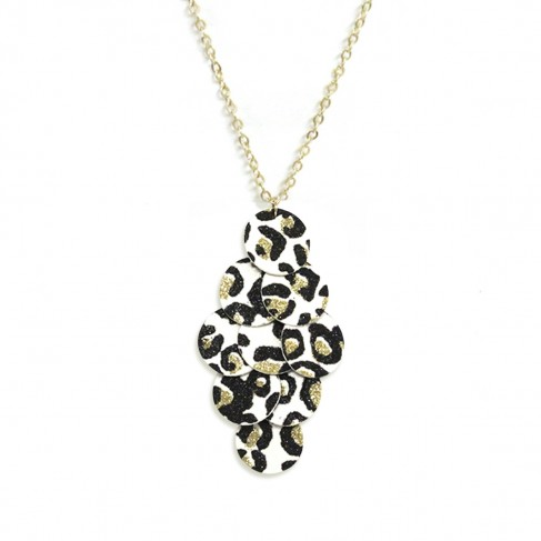 White Leopard Whitney Necklace