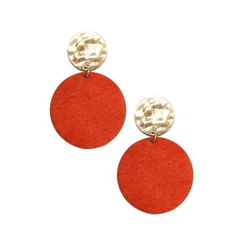 Burnt Orange Natalie  Earrings