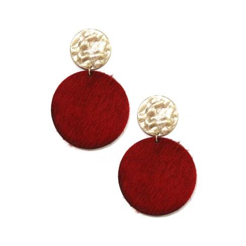 Red Natalie Earrings
