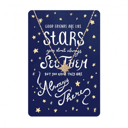 Always There Keepsake Necklace Card